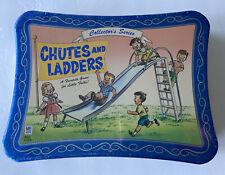 CHUTES AND LADDERS Collector's Series Tin Box 2003 Hasbro Milton Bradley