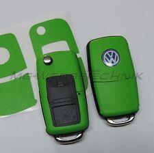 1V_decoración de llave Pegatina VW Polo Golf Touran Bora Jetta Caddy