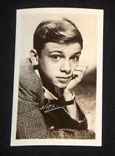 Skippy Homeier 1940's 1950's Actor's Penny Arcade Photo Card