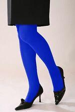 ~ Blue Color 300 Denier Women Panty Hose Hosiery Tights Pantyhose KK11