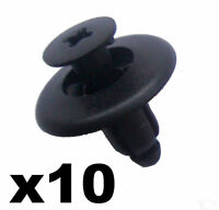10x Mazda Wheel Arch Lining Clips, 8mm Trim Clips BC1D56145