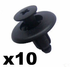 10x RENAULT Pare-chocs en plastique à clipser Rivet Clips bordure