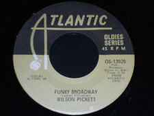 WILSON PICKETT Funky Broadway 45 NM- Hey Jude Atlantic OS-13028