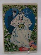 VILLEROY e Boch vilbocard A21 / 1 Topper sposa e sposo NUOVO INUTILIZZATO bh028 WEDDING