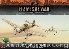 Flames of War BNIB Ju 87 Stuka Dive Bomber Flight GBX103