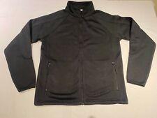 New Mens Kustom Kit K306 Knitted Fleece Jacket. Black L. J26-63