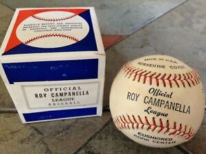 RARE Vintage Roy Campanella Baseball Mint Sealed Box Brooklyn Dodgers Game Used