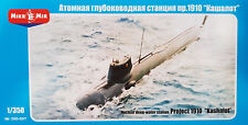 MIKRO MIR 350-007 Nuclear Deep Water Station Project 1910 Kashalot in 1:350