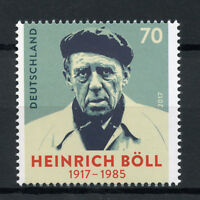 Germany 2017 MNH Heinrich Boell Boll 1v Set Writers Literature Stamps