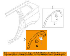 VOLVO OEM 2016 XC90 Ext-Wheel Well Fender Flare Arch Molding Right 39836885