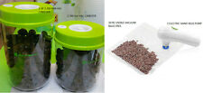 2 Vacuum Sealer Food Containers Kitchen Food Saver Canisters 1 VAC PUMP