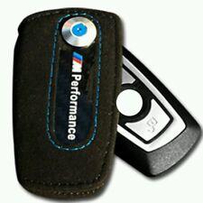 BMW M Performance Alcantara Carbon Keycase Schlüsseletui Schlüsseltasche NEU bl.