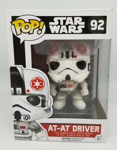 Star Wars - AT-AT Driver #92 Funko Pop Vinyl - Vaulted Starwars *Box Damage*