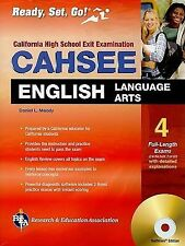 CAHSEE English Language Arts w/ CD-ROM (California CAHSEE Test Preparation), , M