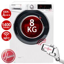 Waschmaschine Frontlader A+++ -40% HOOVER DXOA Q48AHB7-84 8kg NFC 1400U/Min weiß