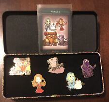 DOTA 2 Hero Pin Pack Set #4 5-Pin Set And Cards Brand New