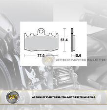 PER BMW R 1150 RT ABS DAL 2001 AL 2005 COPPIA PASTIGLIE FRENO ANTERIORI BRAKING