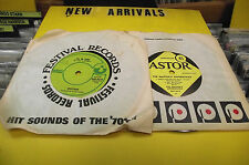 rare oz 45 oz master apprentices ep 60s undecided  & spectrum 45 70s ill be gone