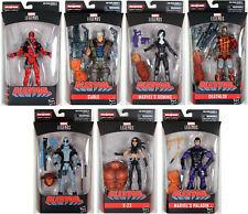 Marvel Legends ~ DEADPOOL SERIES 1 ACTION FIGURE SET ~ SASQUATCH BAF SERIES