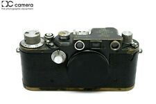"Rare Gray Paint Leica IIIC K Wehrmacht Heer ""W.H."" Engraved Military Camera Body"