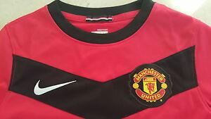 Nike neu Manchester United Trikot Homme Größe 140-152 rot Wunschflock möglich