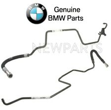 For BMW E46 3-Series Pair Set of Inlet & Outlet Auto Trans Cooling Lines Genuine