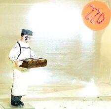 Vendeur Baker avec éventaire Preiser Bois H0 PRE220 å