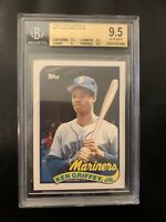 1989 TOPPS TRADED # 41T KEN GRIFFEY JR. BGS GEM MINT 9.5 TRIPLE 9.5s HOT & NICE