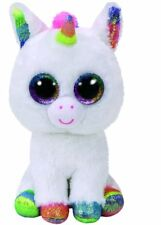 TY BEANIE BABIES BOOS PIXY UNICORN PLUSH SOFT TOY NEW WITH TAGS