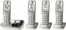 Panasonic KXTGD224N Dect 6.0 4 Digital Cordless Handsets Champagne Gold