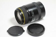 Very good Tokina AT-X 100mm F/2.8 M100 AF Macro Lens for Minolta