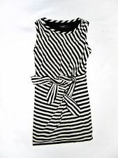 New Without Tags GUESS Black & White Striped Dress Size 8!