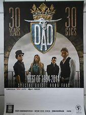 D.A.D. - Papa - 2014 tour -- Orig. Concert Poster-concert affiche a1 NEUF