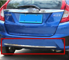 ABS Chrome under rear bumper cover trim For Honda FIT JAZZ 2014 2015 2016