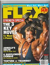 FLEX bodybuilding muscle magazine/Gunther/Ronnie/Lenda Murray poster 11-04