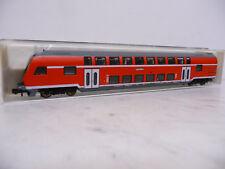 Fleischmann 8623 n 1:160 doble piso carro fiscal rojo con lichtw/luz OVP Top