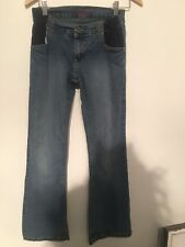 Ladies Light Blue Wash Jeans Size 8 Maternity Jeans Hula House Of Denim <M1811