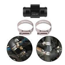 Universal 22mm Wasser Temperaturanzeige Kühlerschlauch Rohrverbinder Adapter s0e
