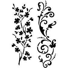 Viva Decor Flexible Sticky Stencil - Flowers