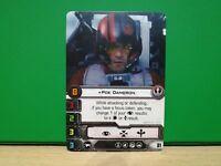 Star Wars X-Wing Miniatures Game - Promo Card Poe Dameron