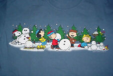 CHRISTMAS CHARLIE BROWN LUCY SNOOPY WOODSTOCK T SHIRT-M