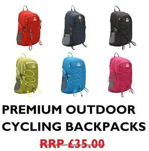 Strong Waterproof School College Backpacks Rucksacks Cycling Carry-on Travel Bag