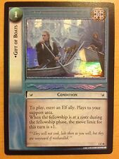 Lord of the Rings CCG Fellowship 1U46 Gift of Boats FOIL LOTR TCG