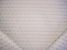 1+ BEAUTIFUL KRAVET 34288 GREY WHITE TEXTURED TEARDROP TRELLIS UPHOLSTERY FABRIC