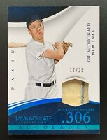 2015 Panini Immaculate Accolades GIL MCDOUGALD Jersey Patch Relic Card SP /25