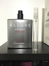 CHANEL ALLURE HOMME SPORT EAU EXTREME EDP SPRAY 10 ML Travel Bottle Rare Batch