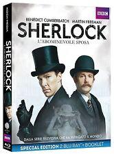 SHERLOCK - L'ABOMINEVOLE SPOSA (2 BLU-RAY + BOOKLET) DALLA SERIE TV SHERLOCK
