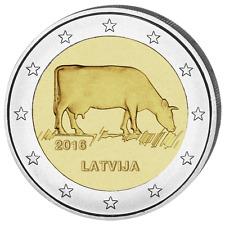 LETTONIE 2 Euro Agriculture Lettonne 2016 UNC