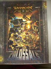 CIZ Warmachine Colossals Privateer Press PIP1049 Soft Cover NEW