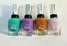 Sally Hansen Complete Salon Manicure 0.5 fl oz 14.7 ml Assorted colors Lot of 4